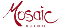 Mosaic Hair Salon in Portland Oregon - Red Logo