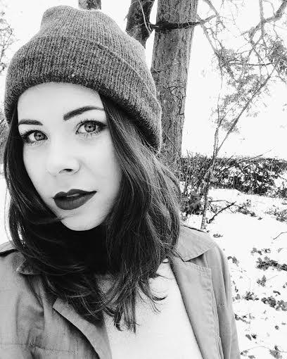 Makayla Reeder Black and White Photo
