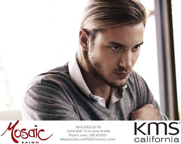 Mosaic Salon PDX - Men's long hair, rugged, masculine, men's sexy hair